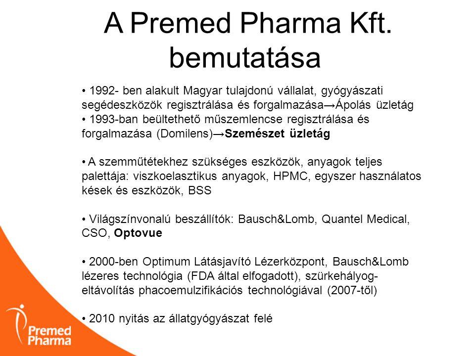 A Premed Pharma Kft. bemutatása