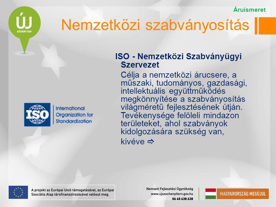 Nemzetközi szabványosítás