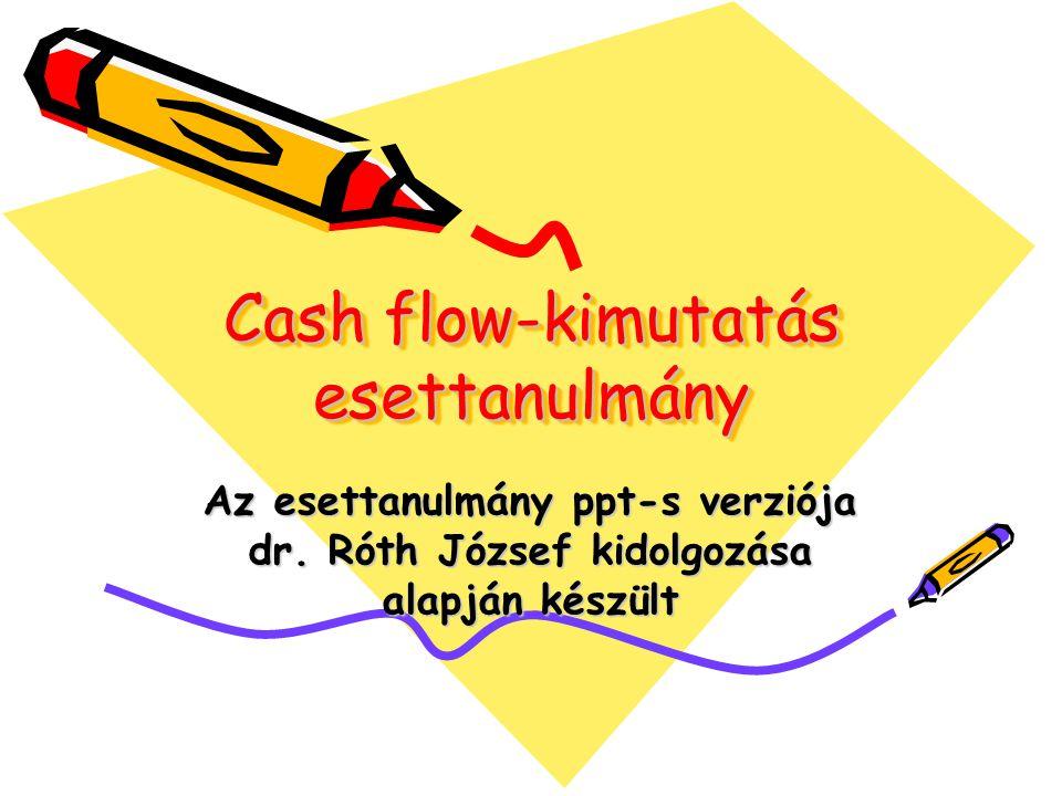 Cash flow-kimutatás esettanulmány
