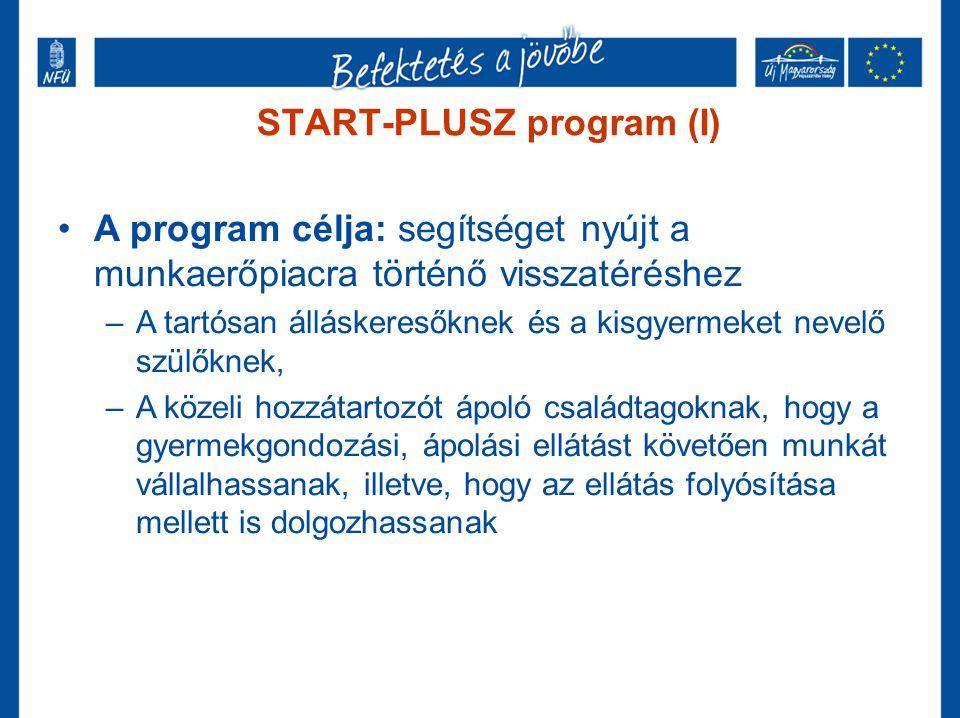 START-PLUSZ program (I)