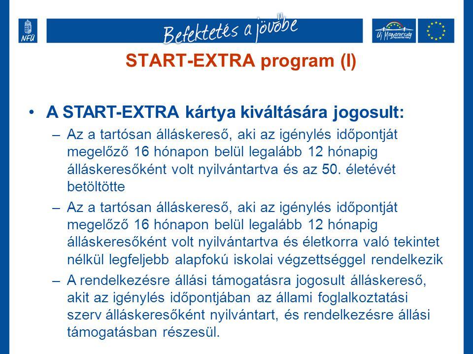 START-EXTRA program (I)