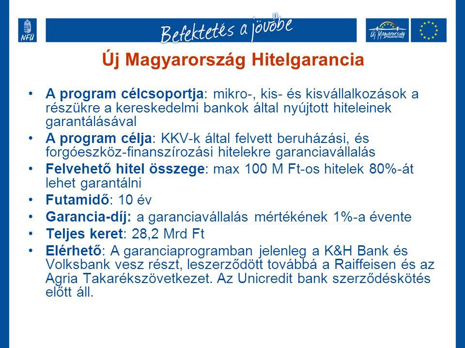 Új Magyarország Hitelgarancia