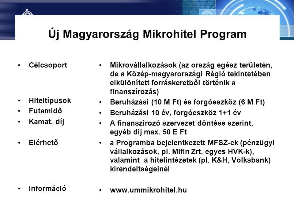Új Magyarország Mikrohitel Program