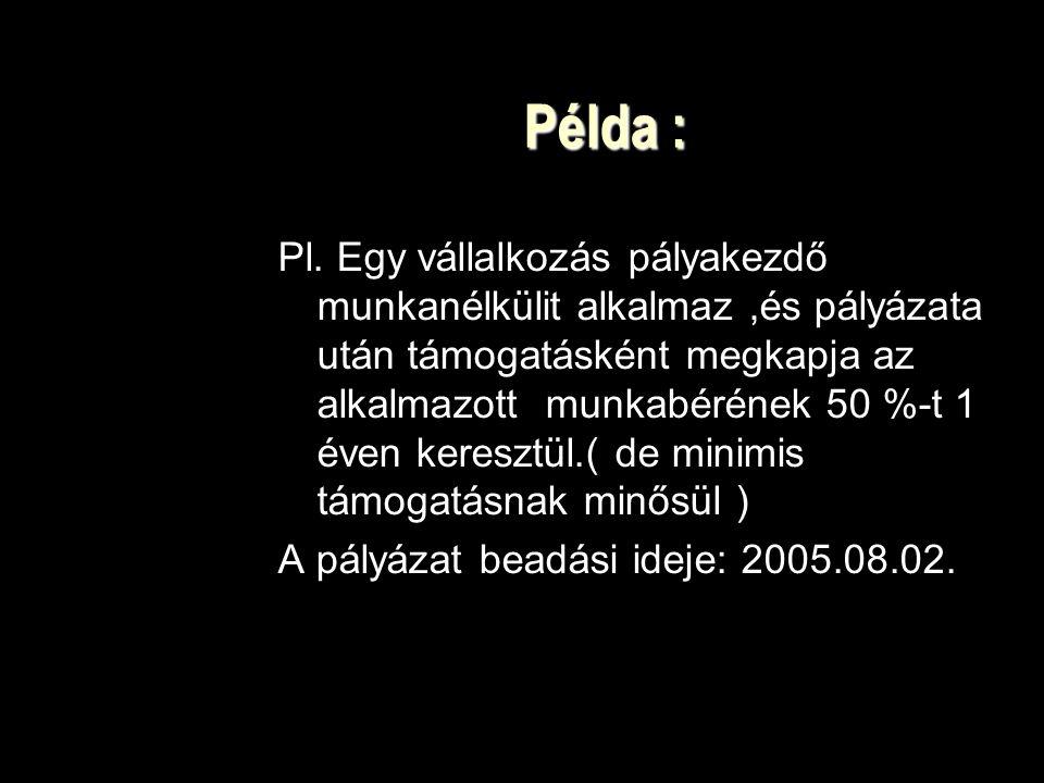 Példa :