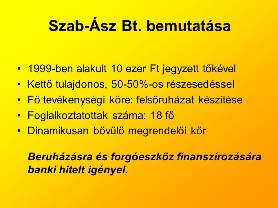 Szab-Ász Bt. bemutatása