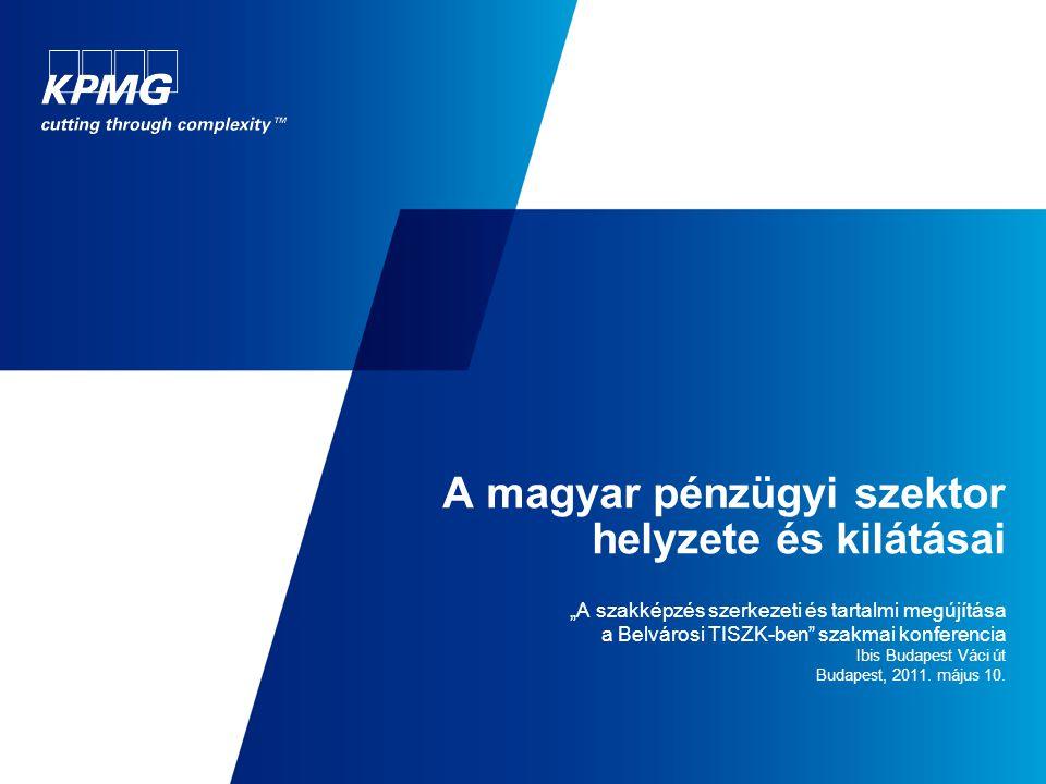A magyar pénzügyi szektor helyzete és kilátásai