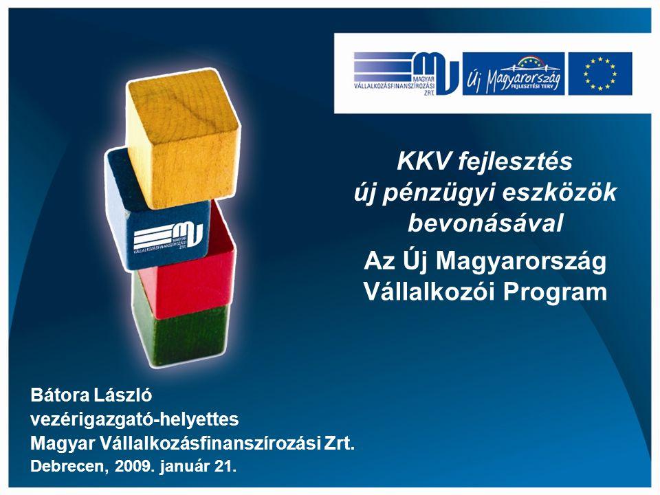 KKV fejlesztés új pénzügyi eszközök bevonásával