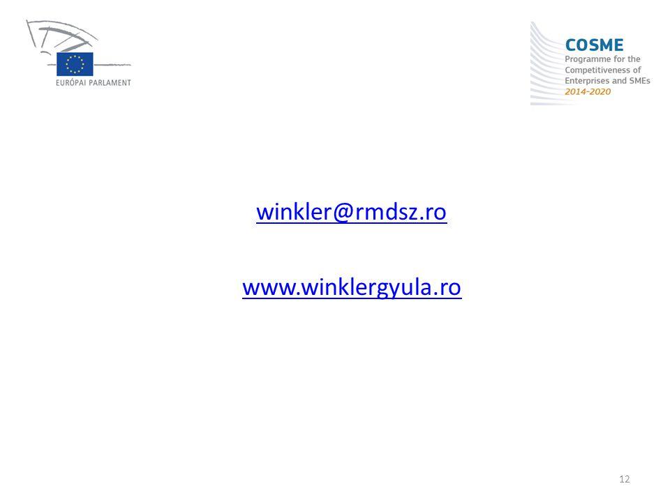 winkler@rmdsz.ro www.winklergyula.ro