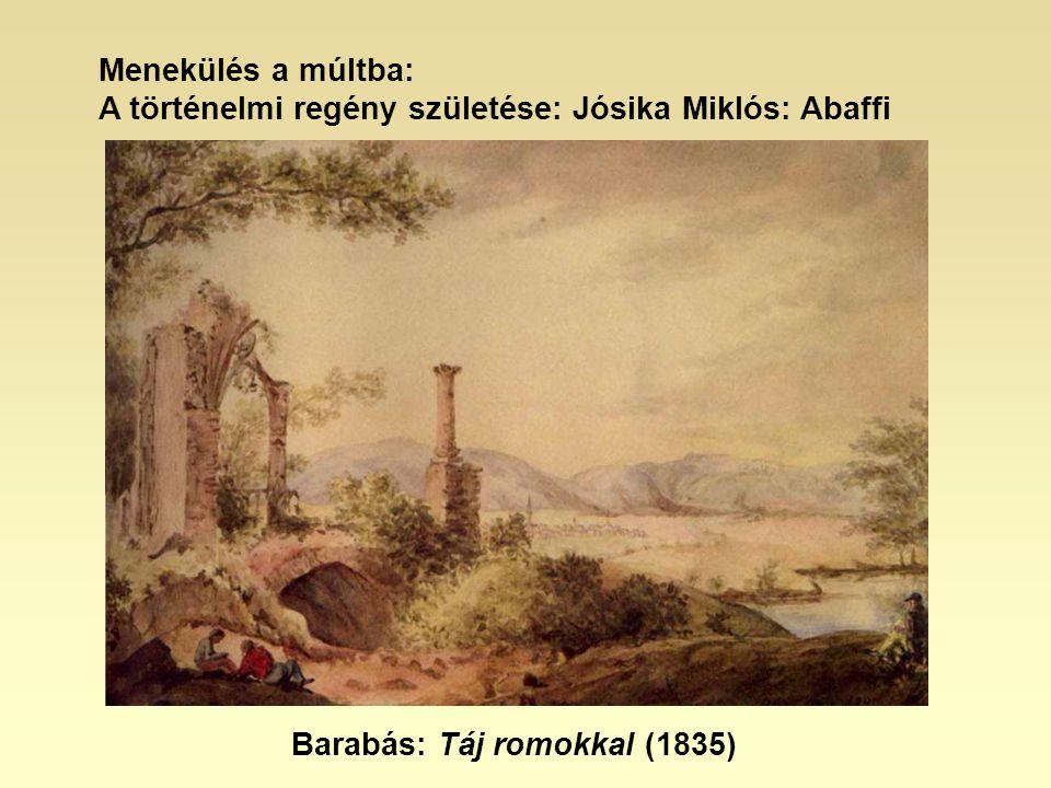 Menekülés a múltba: A történelmi regény születése: Jósika Miklós: Abaffi.