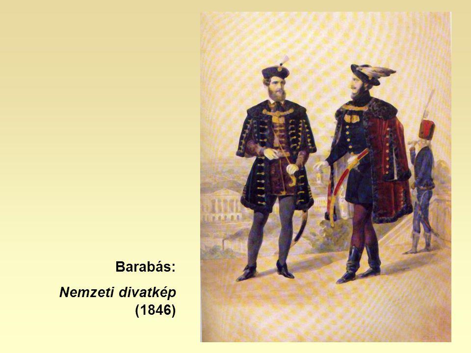 Barabás: Nemzeti divatkép (1846)
