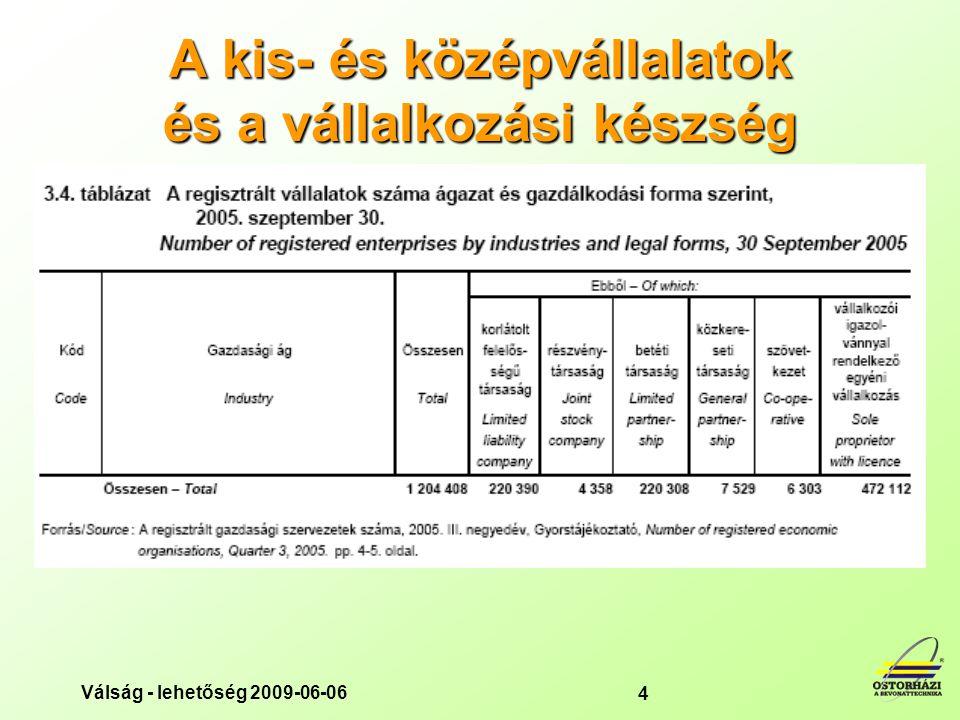 A kis- és középvállalatok és a vállalkozási készség