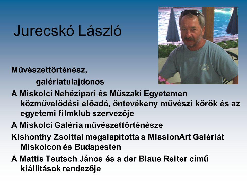 Jurecskó László