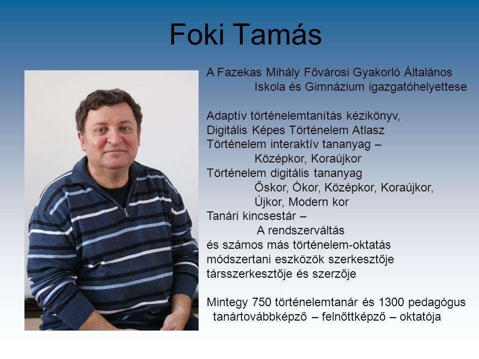 Foki Tamás A Fazekas Mihály Fővárosi Gyakorló Általános