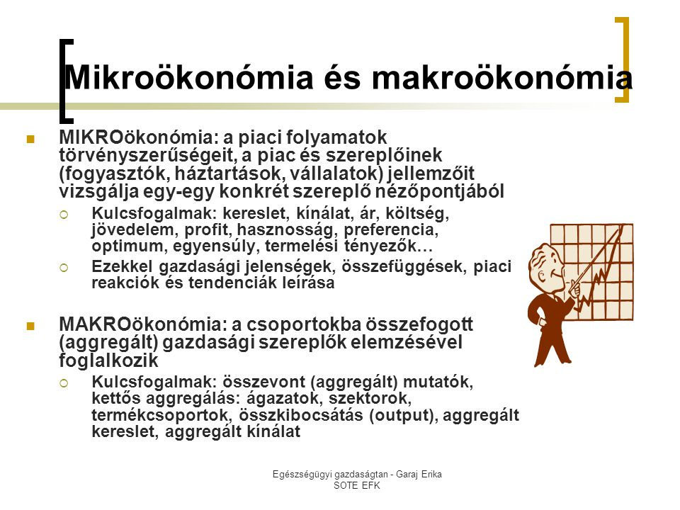 Mikroökonómia és makroökonómia