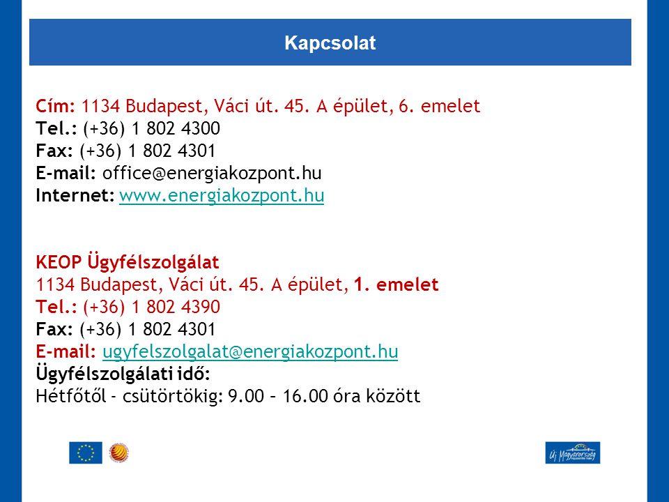 Kapcsolat Cím: 1134 Budapest, Váci út. 45. A épület, 6. emelet. Tel.: (+36) 1 802 4300. Fax: (+36) 1 802 4301.