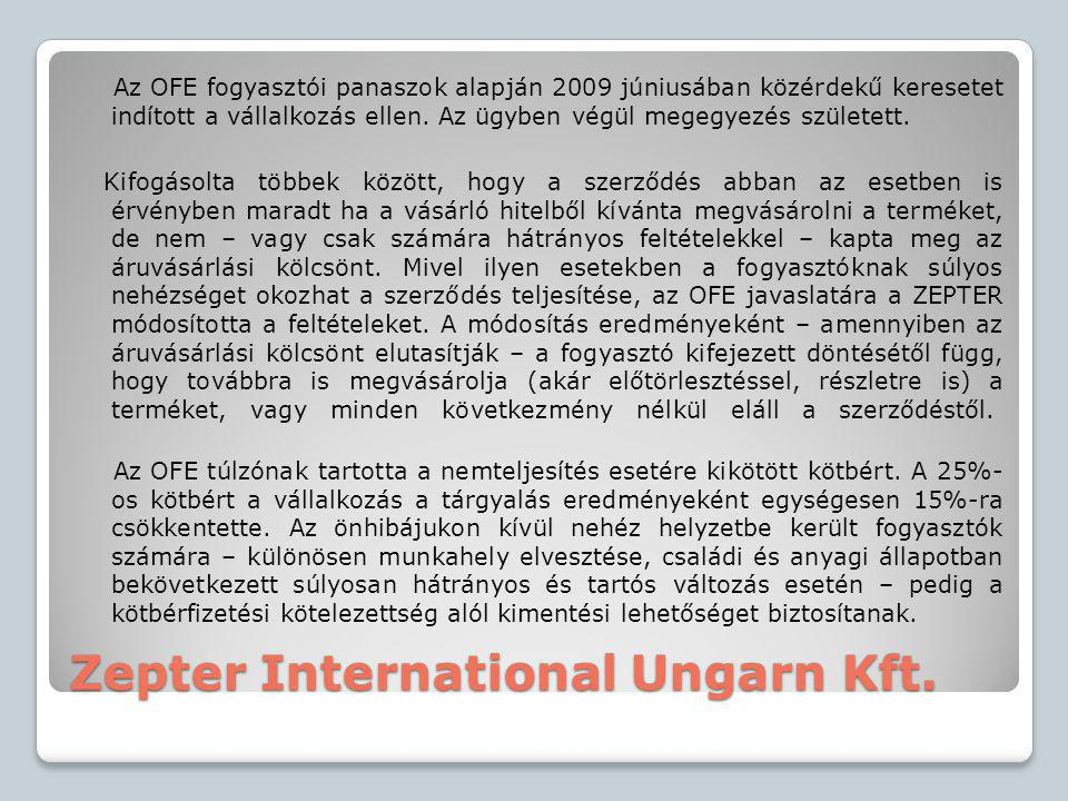 Zepter International Ungarn Kft.