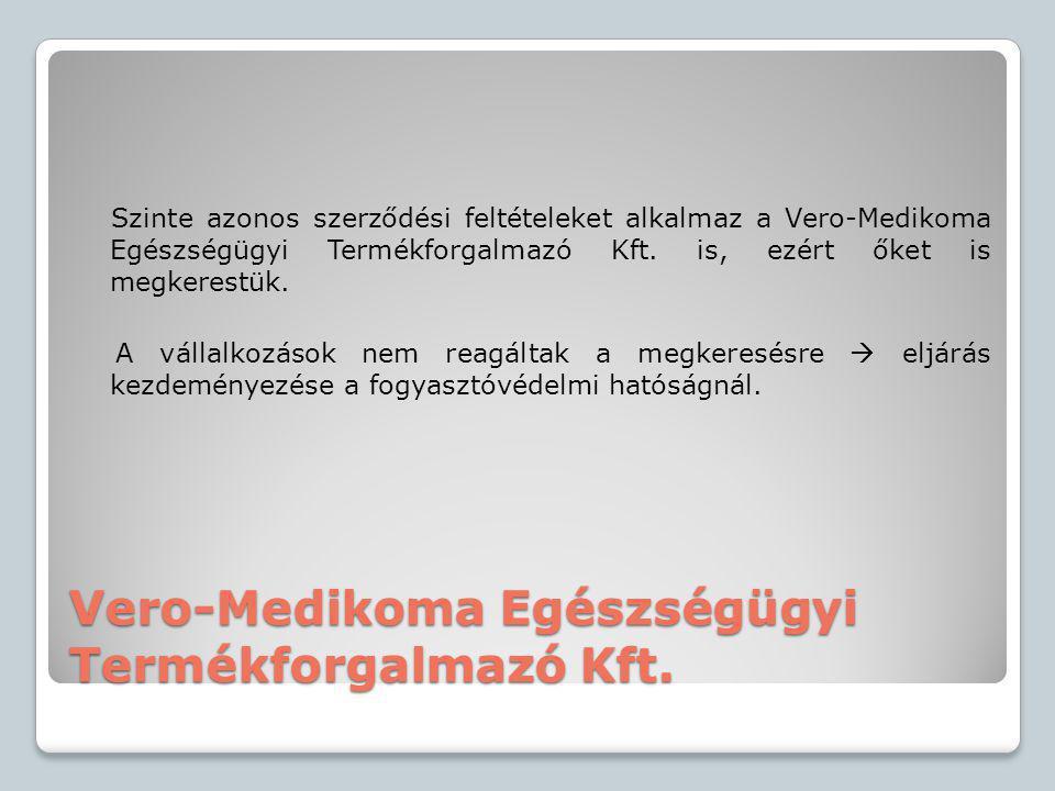 Vero-Medikoma Egészségügyi Termékforgalmazó Kft.