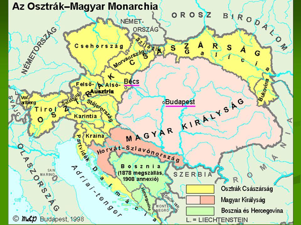 Mária Terézia 1754 kettős vámrendelet Kaunitz 1850-ig áll fenn