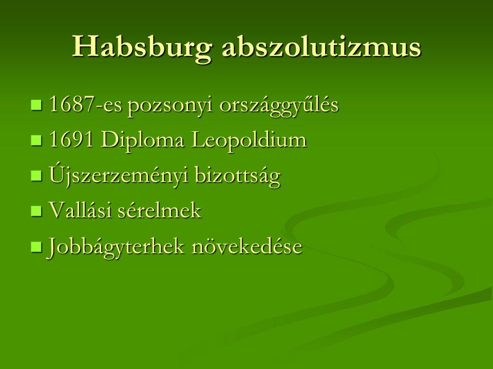 Habsburg abszolutizmus