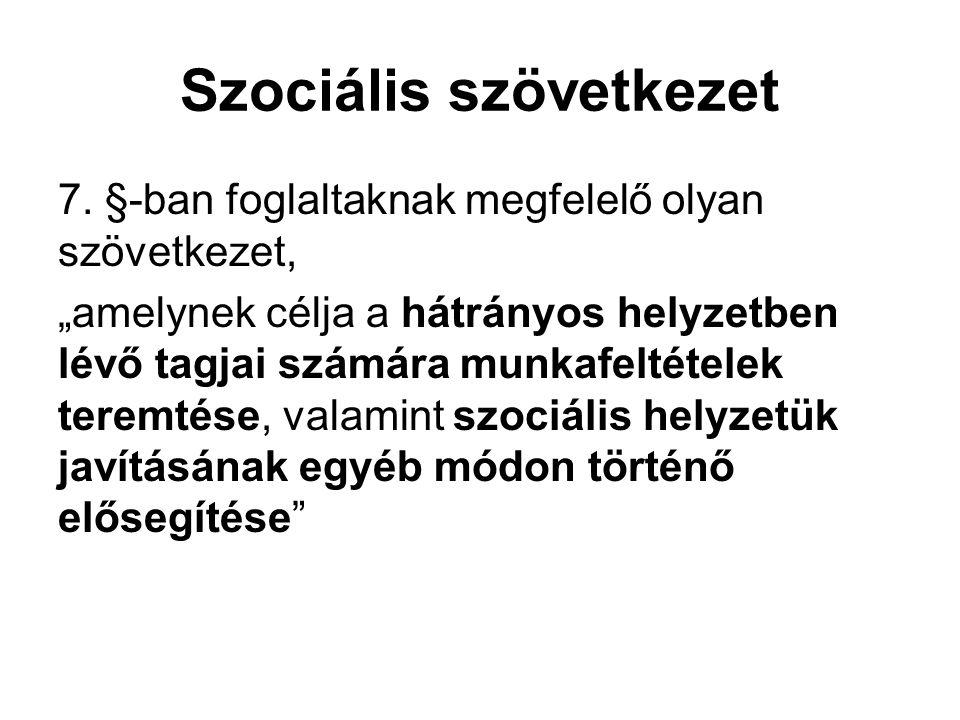 Szociális szövetkezet