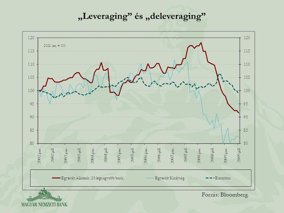 """""""Leveraging és """"deleveraging"""
