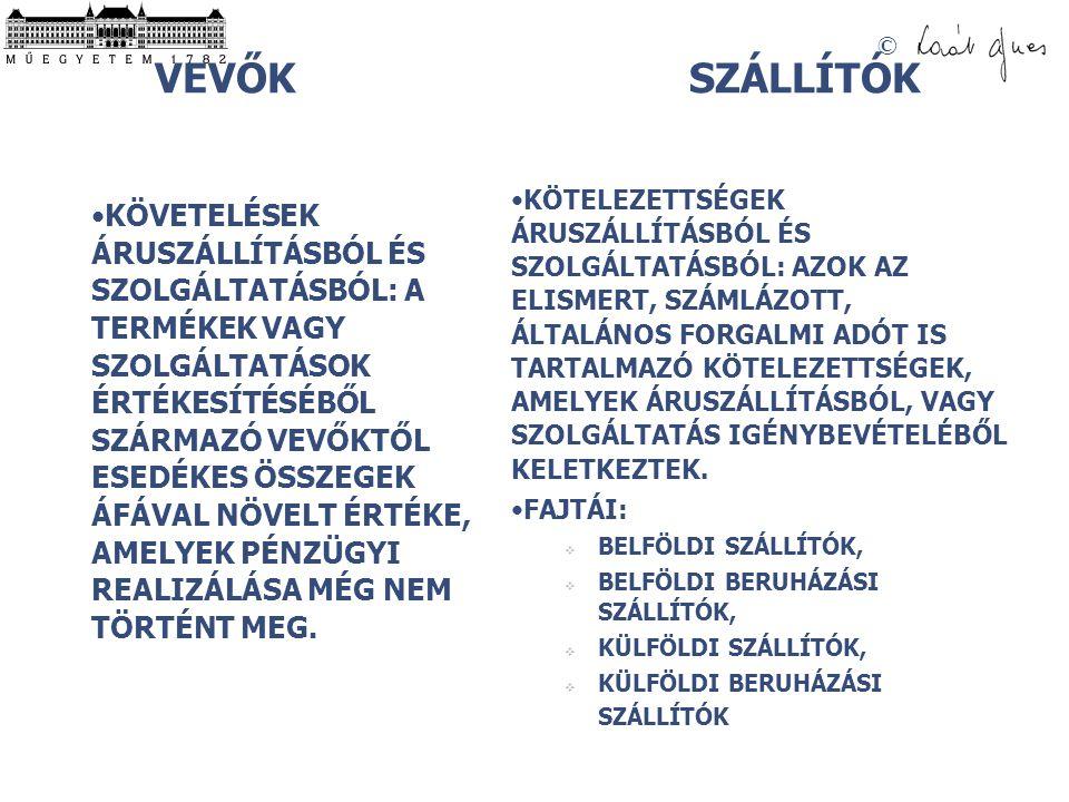 VEVŐK SZÁLLÍTÓK