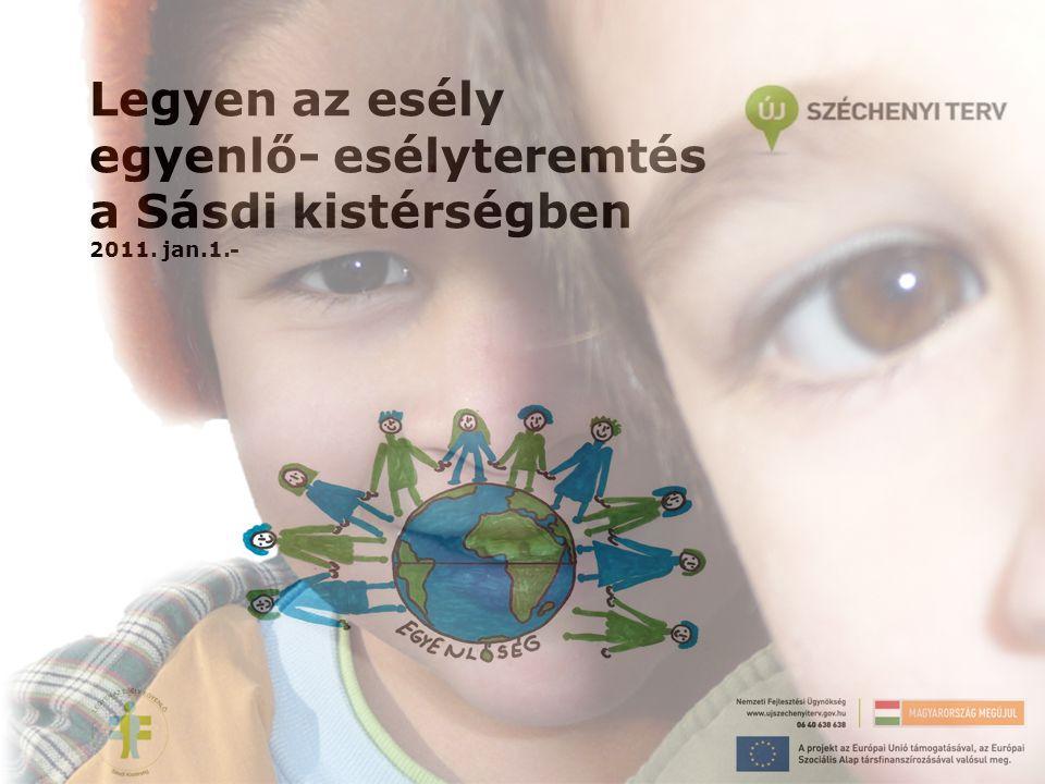 Legyen az esély egyenlő- esélyteremtés a Sásdi kistérségben 2011. jan