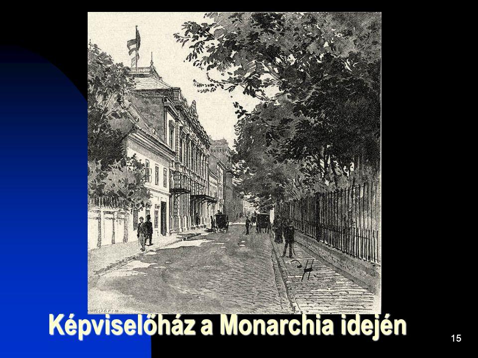 Képviselőház a Monarchia idején