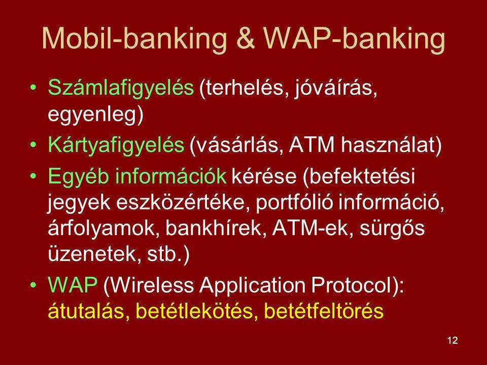 Mobil-banking & WAP-banking