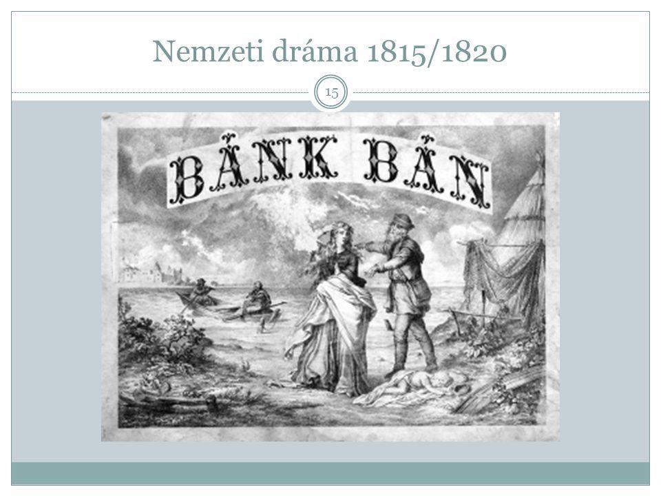 Nemzeti dráma 1815/1820