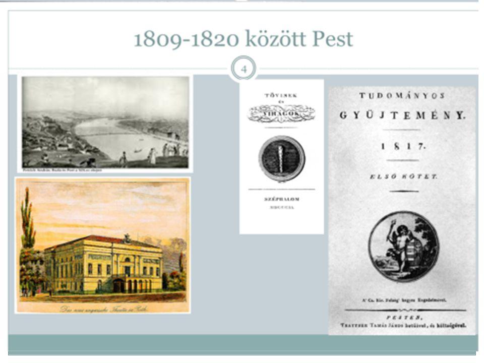 1809-1820 között Pest