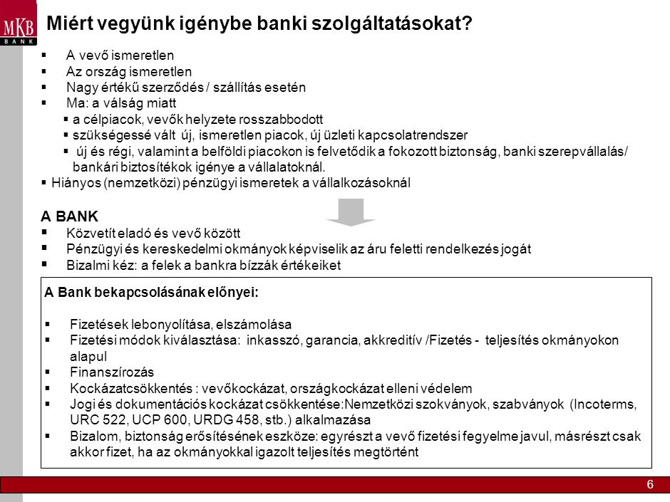 Miért vegyünk igénybe banki szolgáltatásokat
