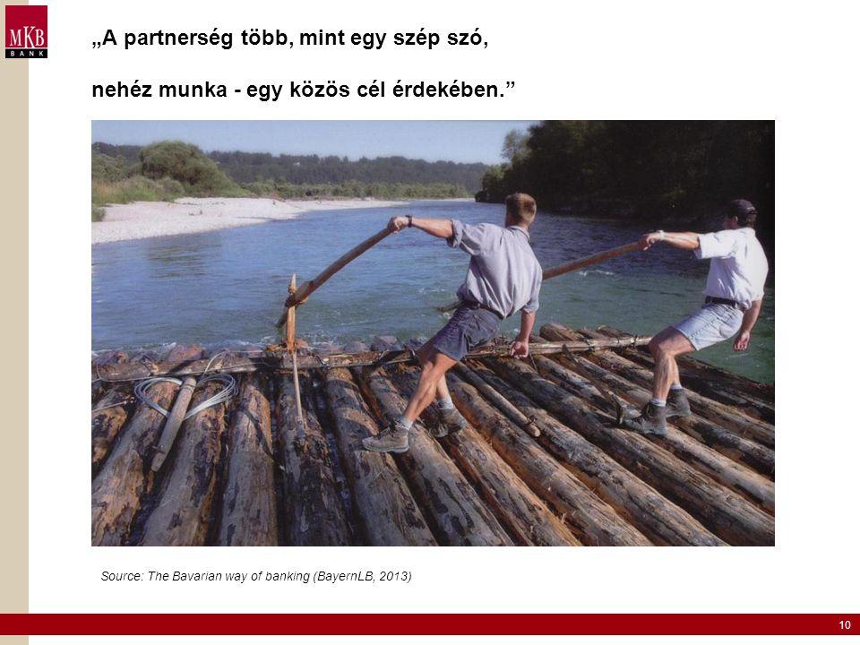 """""""A partnerség több, mint egy szép szó, nehéz munka - egy közös cél érdekében."""