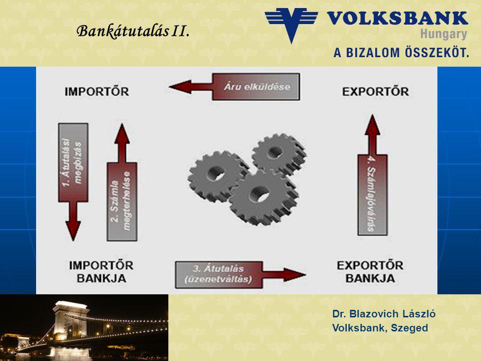 Bankátutalás II.