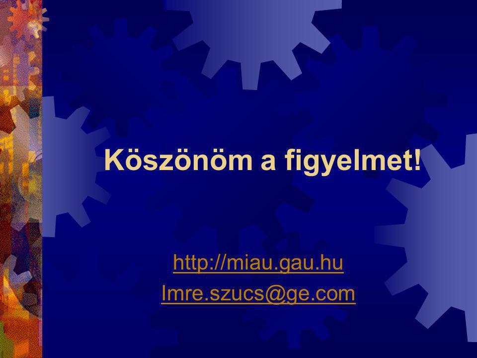 http://miau.gau.hu Imre.szucs@ge.com
