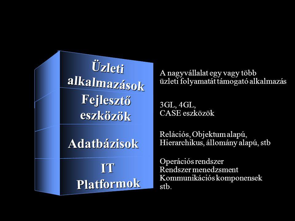 Informatikai rendszerek - Nagyvállalatok