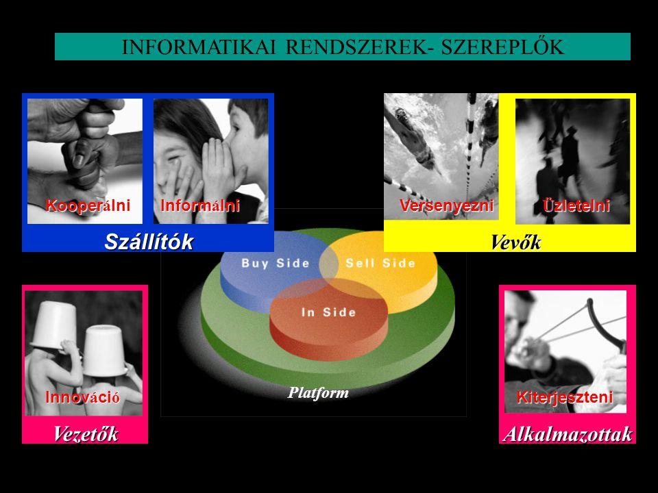 INFORMATIKAI RENDSZEREK- SZEREPLŐK