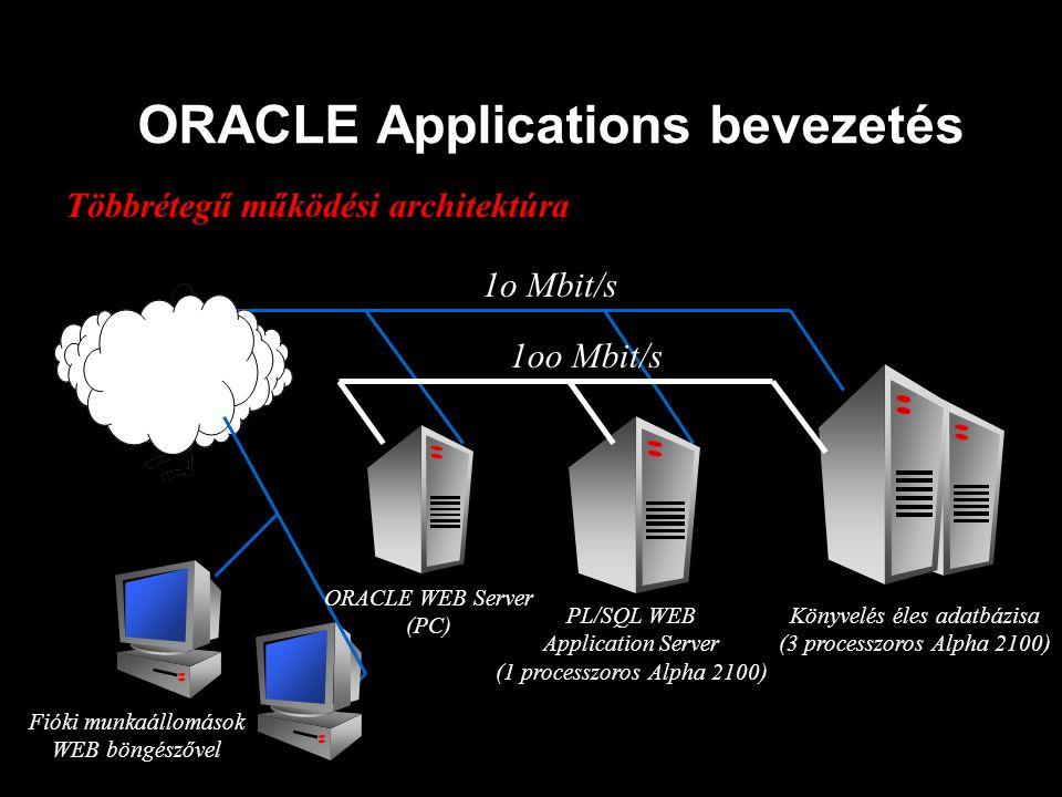 ORACLE Applications bevezetés