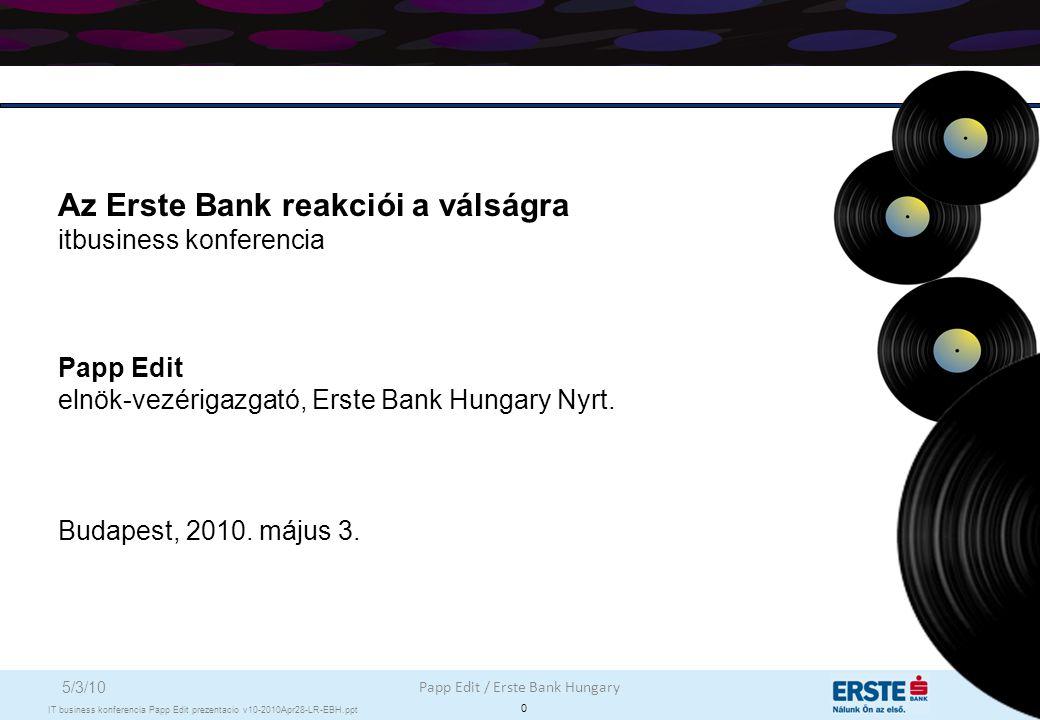 Tartalom Oldal Válság hatása a magyar gazdaságra és bankszektorra