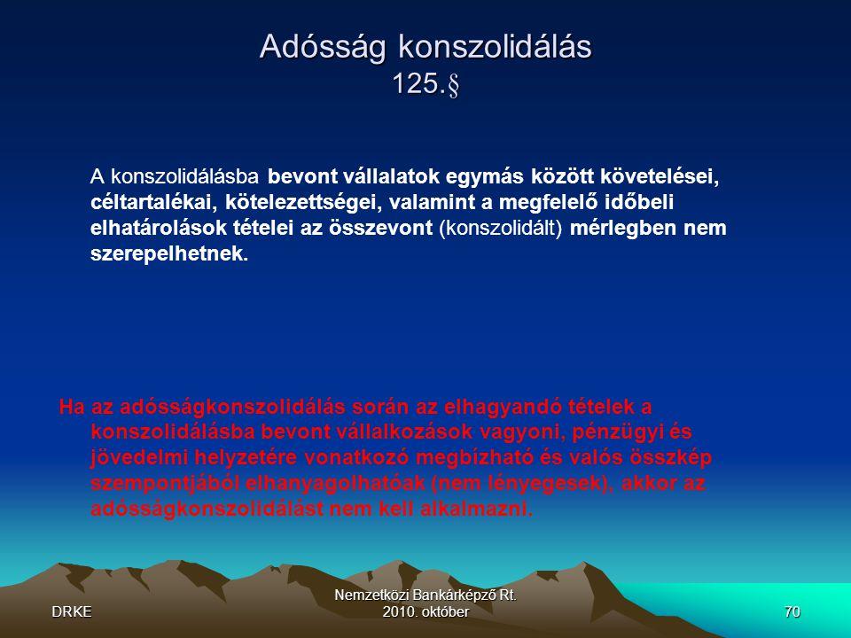 Adósság konszolidálás 125.§
