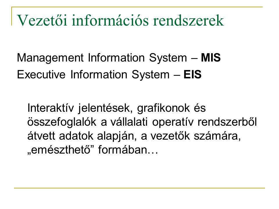 Vezetői információs rendszerek
