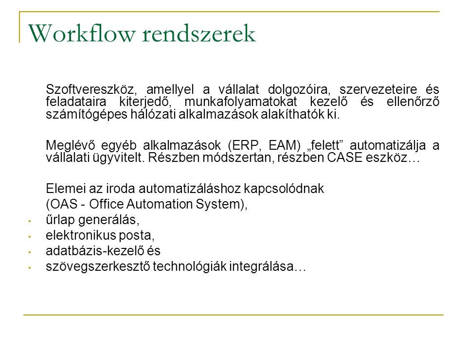 Workflow rendszerek