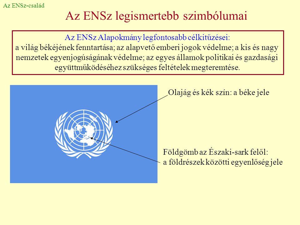 Az ENSz legismertebb szimbólumai
