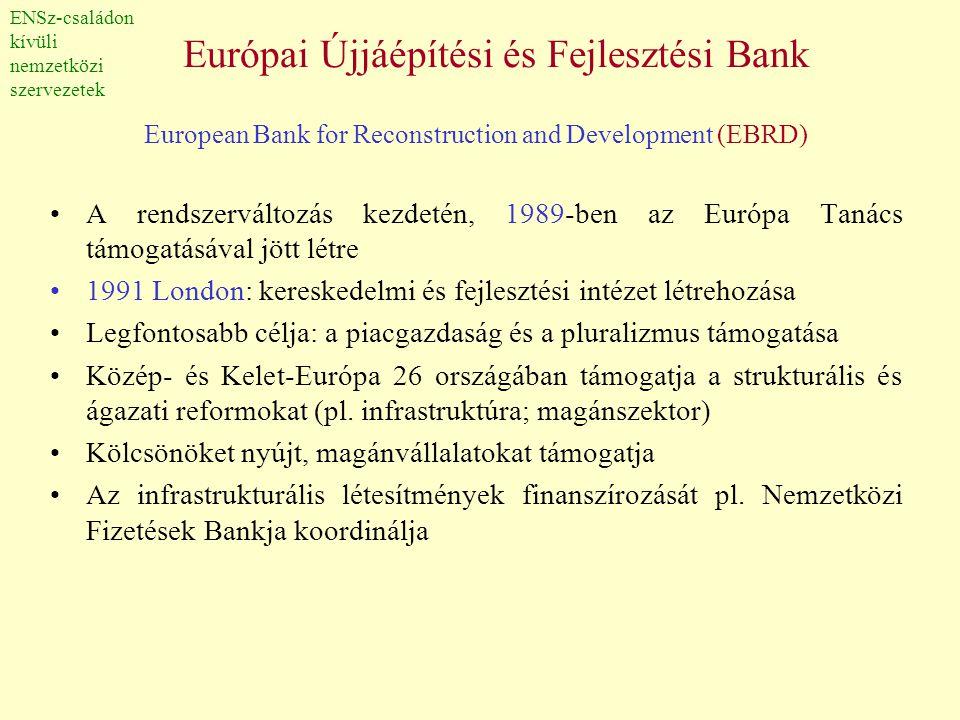 Európai Újjáépítési és Fejlesztési Bank