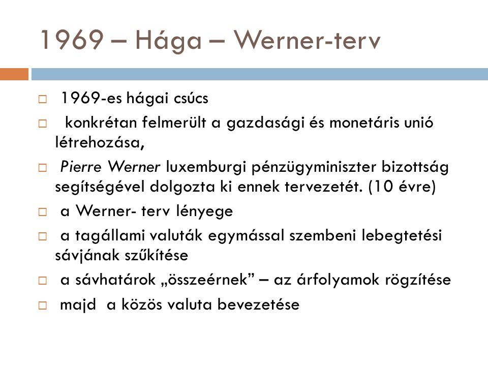 1969 – Hága – Werner-terv 1969-es hágai csúcs