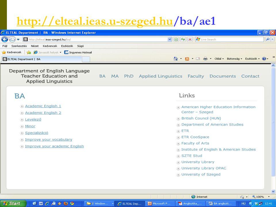 http://elteal.ieas.u-szeged.hu/ba/ae1