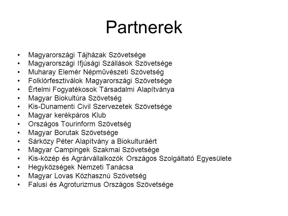 Partnerek Magyarországi Tájházak Szövetsége