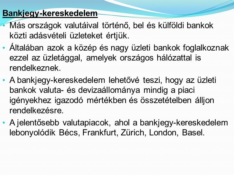 Bankjegy-kereskedelem