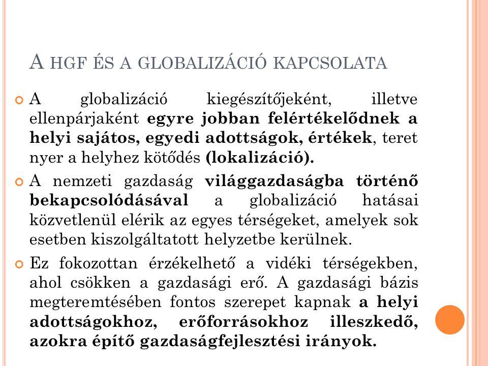 A hgf és a globalizáció kapcsolata
