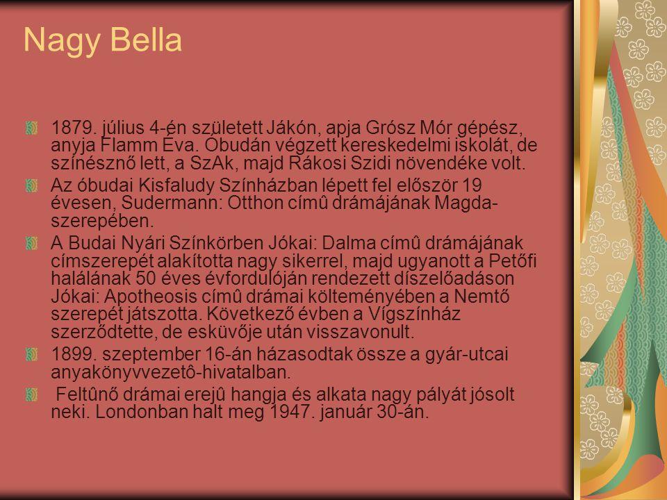 Nagy Bella